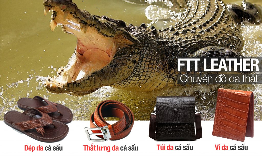 Đồ da cá sấu