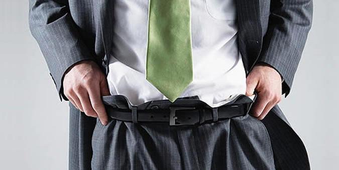 10 fashion mistakes men make Thắt lưng nam FTT leather