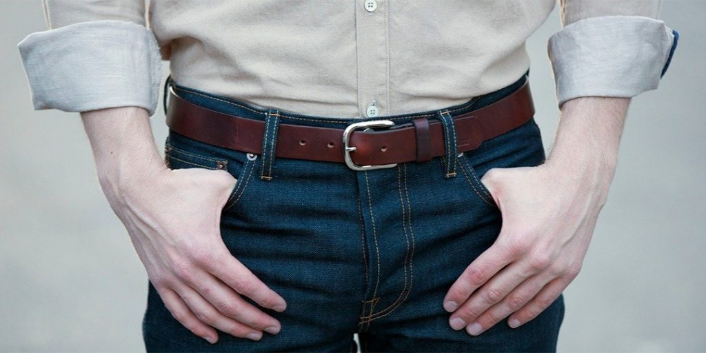 the 6 belts every man should have in his closet 1 Thắt lưng nam FTT leather
