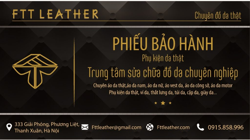 the baohanh2 01 Thắt lưng nam FTT leather
