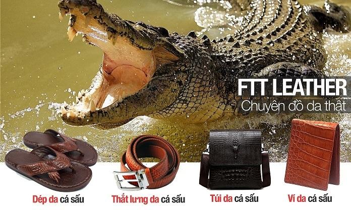 da cá sấu Thắt lưng nam FTT leather