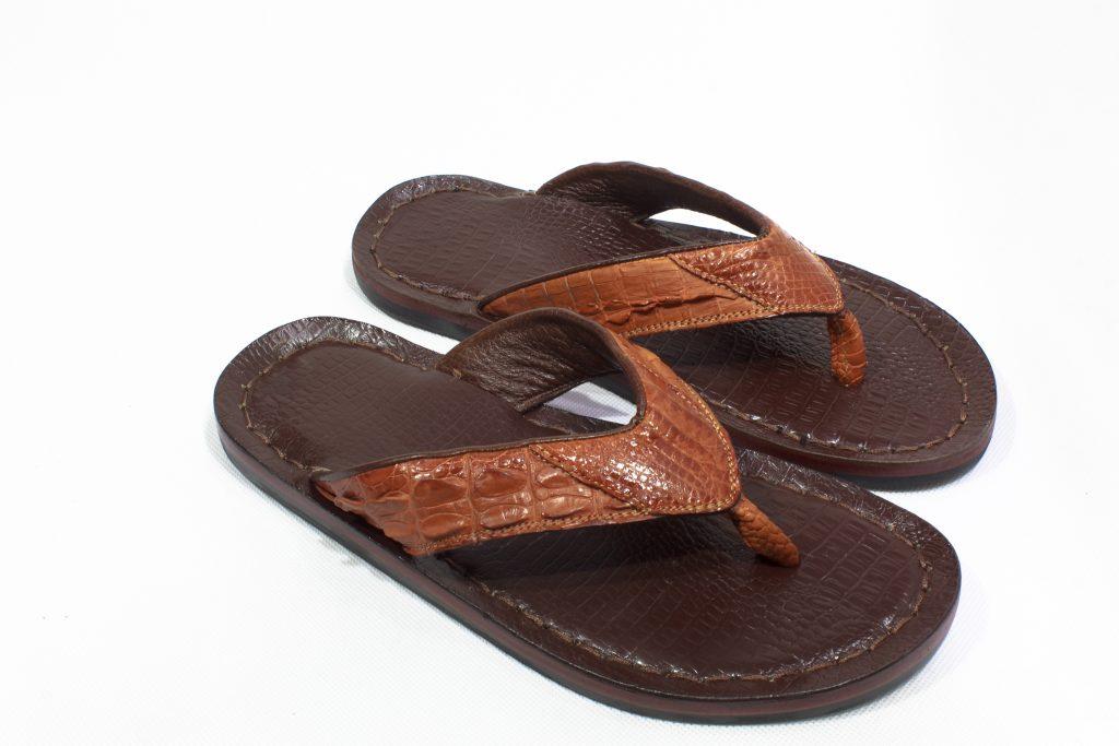 dép da cá sấu 7a Thắt lưng nam FTT leather